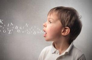Errori linguistici bambino
