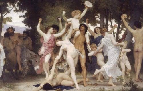 Dipinto sulle origini del piacere
