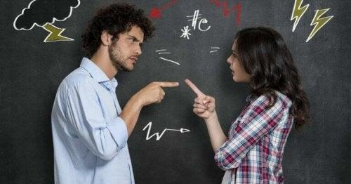 Discussione tra due persone
