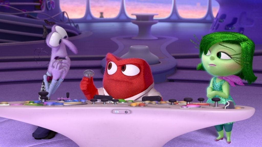 Emozioni del film Inside Out