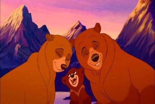 Famiglia di orsi