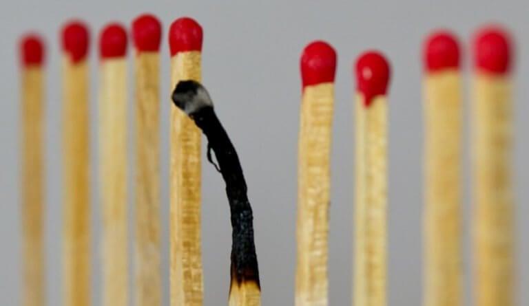 Fiammifero bruciato
