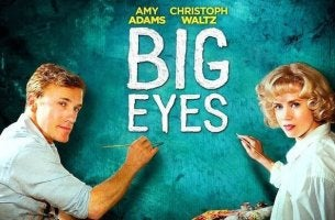 Locandina film Big eyes