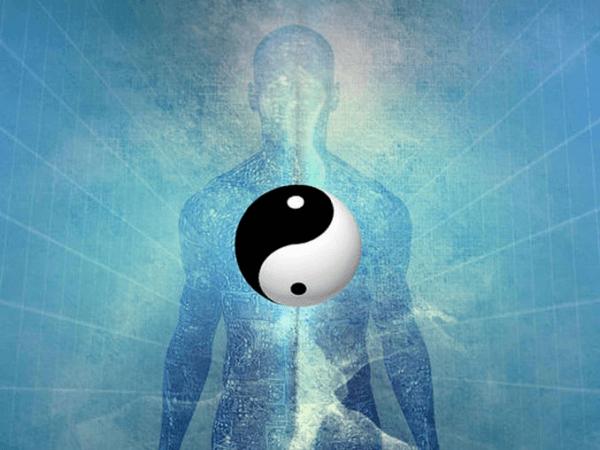 Corpo e sfera yin yang