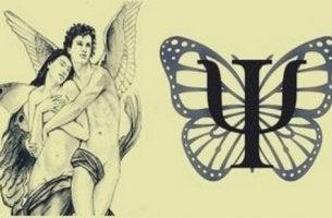 Amore e Psiche simbolo della psicologia
