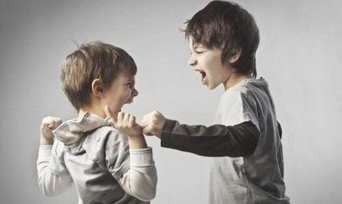 Fratelli che litigano