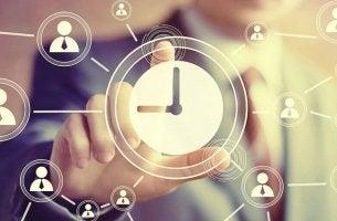 Orologio gestire il tempo