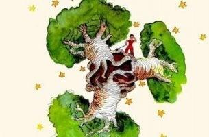 Piccolo principe baobab nel cuore