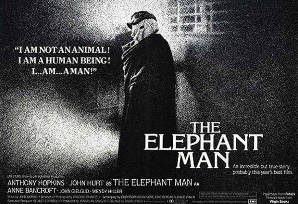 The elephant man locandina