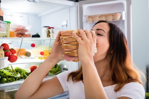 Controllare la fame nervosa