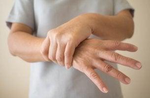 Uomo affetto da morbo di Parkinson