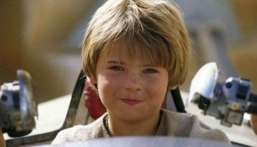 Anakin Skywalker da bambino
