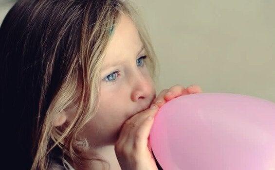 Tecnica del palloncino per bambini