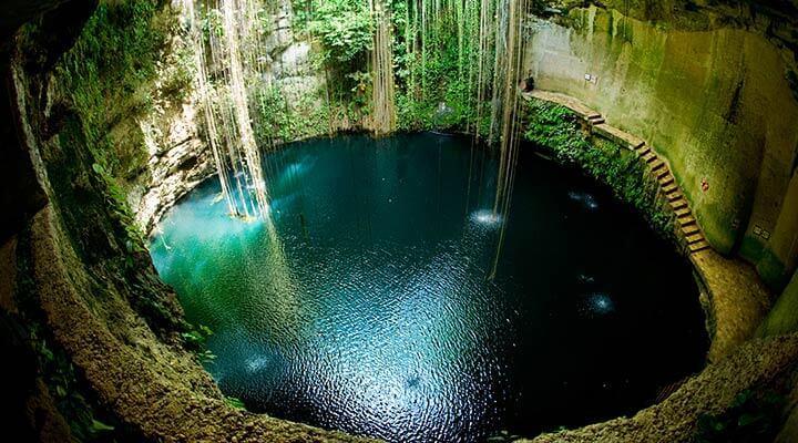 Cenotes nello Yucatan