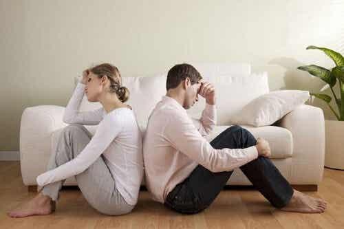 Fine dell'amore di coppia: 3 fattori di rischio
