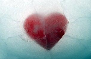 Cuore nel ghiaccio persone emotivamente inaccessibili