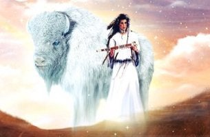 La donna del bisonte bianco