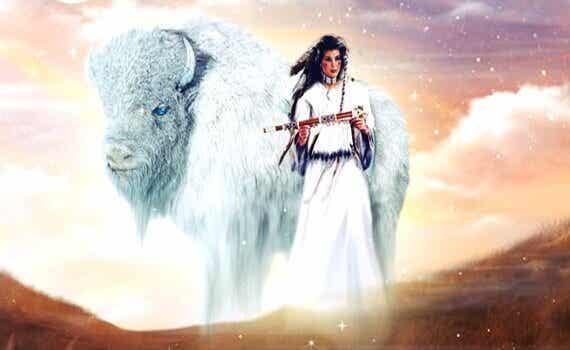 La donna del bisonte bianco: leggenda dei nativi d'America