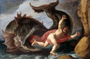 Giona che scappa dalla balena, rappresenta il complesso di castrazione secondo la psicoanalisi