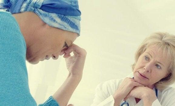 Paziente con tumore