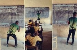 Professore ghanese di informatica