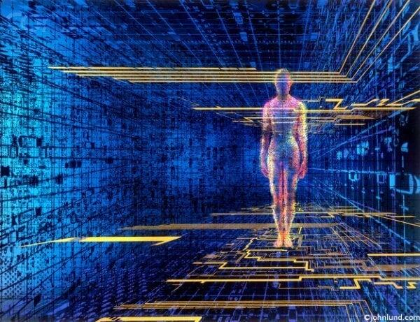 Profilo umano in una rete virtuale