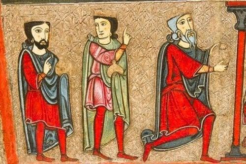 Quadro medievale