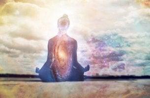 Sagoma luminosa calmare la mente