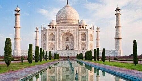 Taj mahal monumenti ispirati all'amore