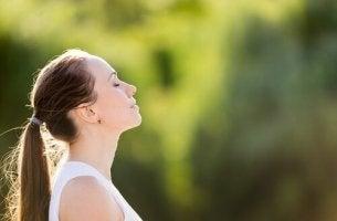 Calmare l'ansia con la respirazione