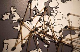 Cartina Europa geopolitica