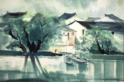 Fiume della storia zen