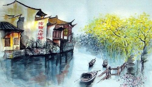 Racconto zen molto antico: attraversare il fiume