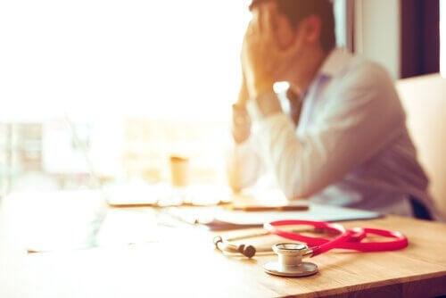 Medico stressato