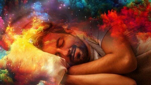 Uomo che sogna