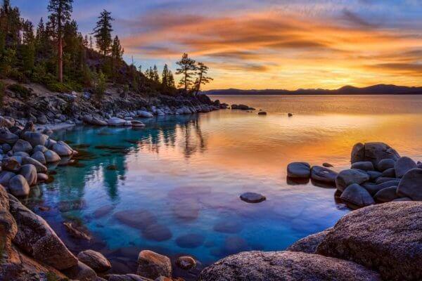 Paesaggio con mare