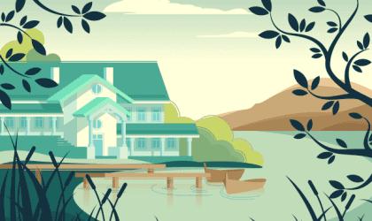 Parabola della casa senza padrone