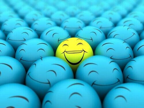 Palla sorridente