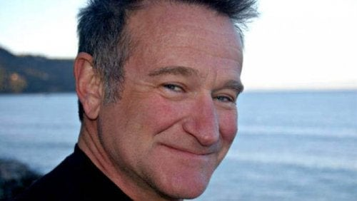 Robin Williams che sorride