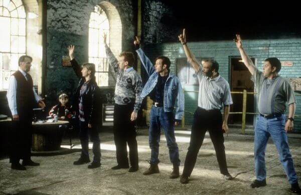 Scena dal film Full Monty