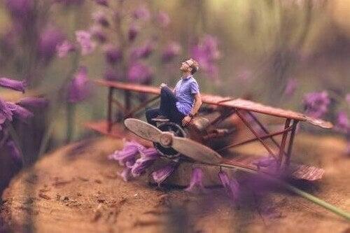 Uomo in miniatura