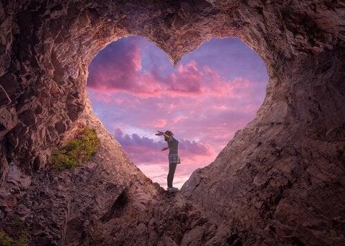 Grotta a forma di cuore