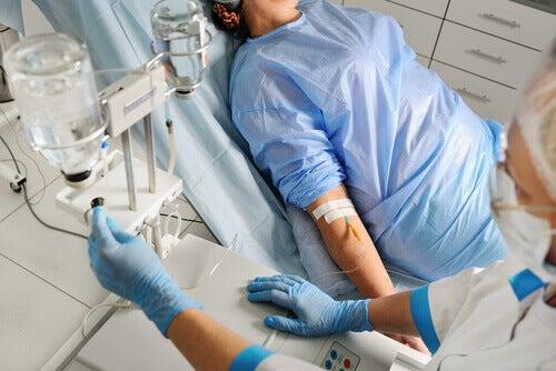Persona in coma all'ospedale