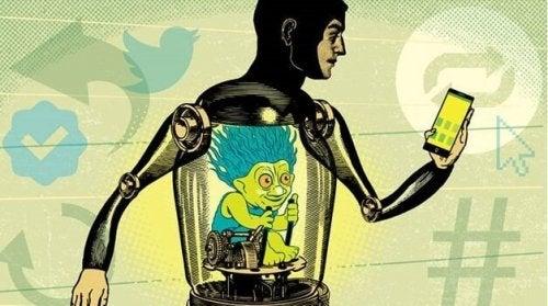 Robot con troll interiore