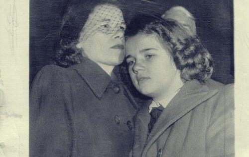 Sally e sua mamma