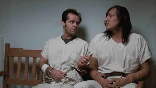 McMurphy con il capo indiano