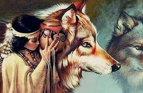 Leggenda Dakota: la donna e i lupi