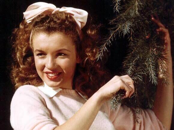 Marilyn Monroe adolescente