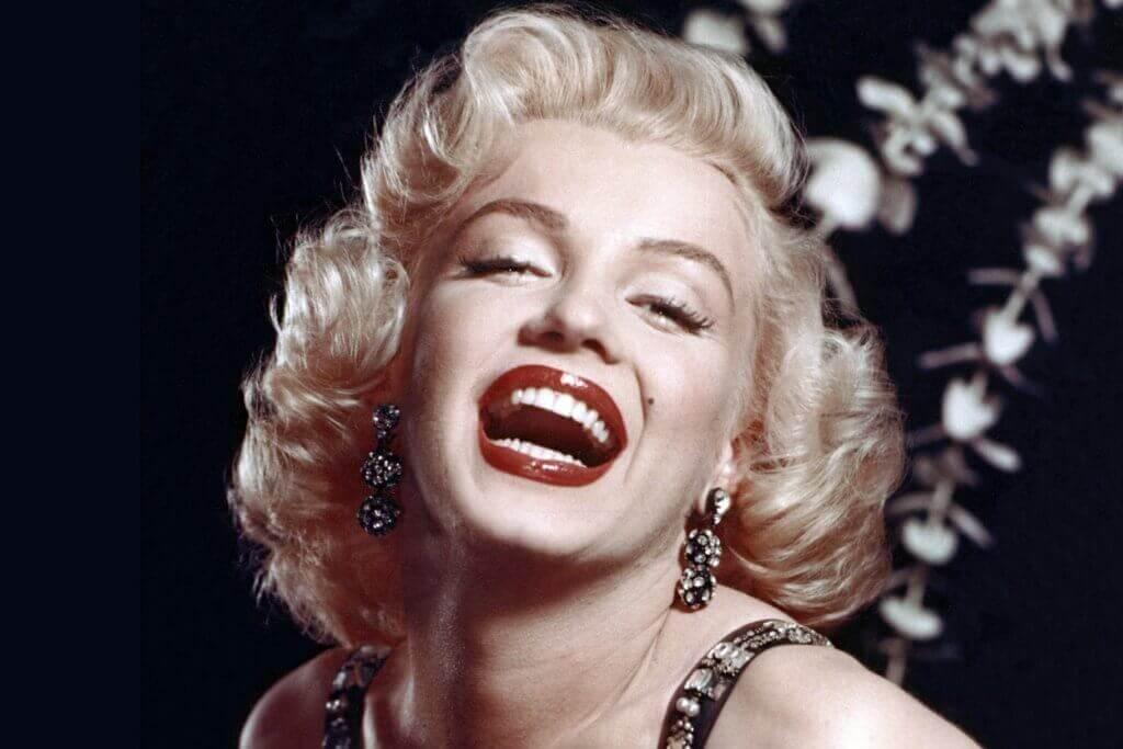Marilyn Monroe sorriso