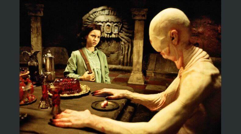 Scena de Il labirinto del fauno Ofelia
